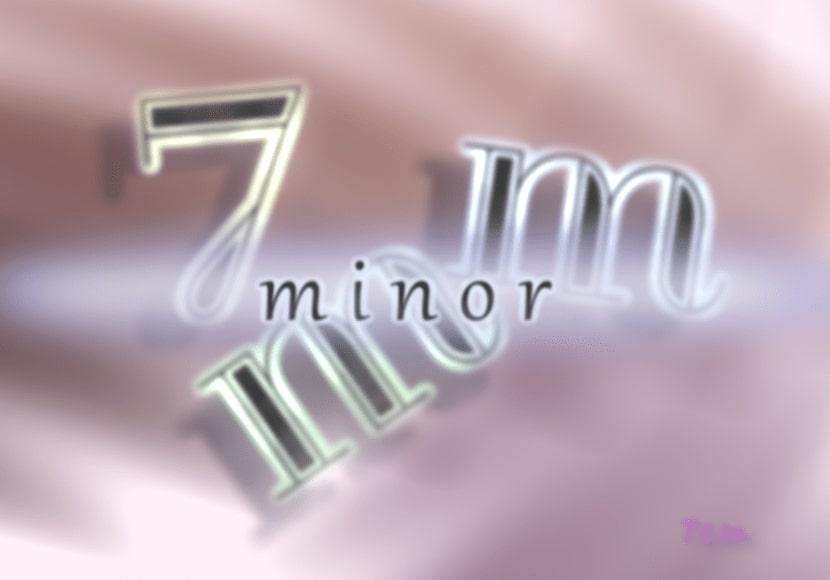 [7mm]minor
