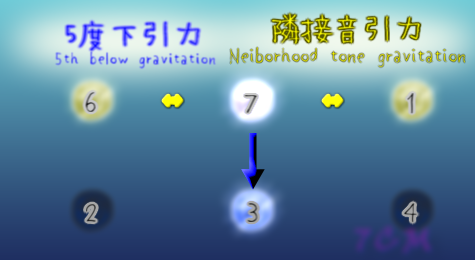 G-gravity and L-gravities around 7th(7度のL引力とD引力)